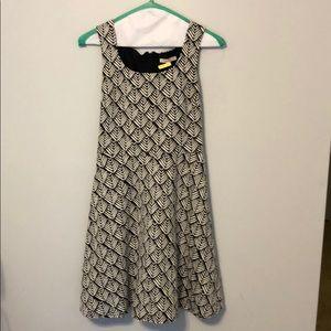 Hawthorn black and white dress